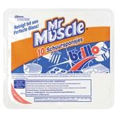 Muscle Brillo Schuursponsjes voorkant