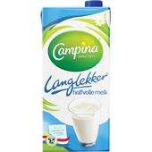 Campina LangLekker Melk Halfvolle Melk voorkant