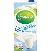Campina LangLekker Melk 0% Vet voorkant
