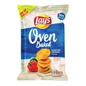 Lay's chips Oven Baked paprika voorkant