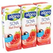 Alpro Soya Drink Rode Vrucht Mini achterkant