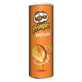 Pringles Chips Paprika voorkant