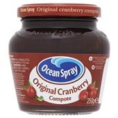 Ocean Spray Compote Cranberry voorkant