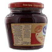 Ocean Spray Compote Cranberry achterkant
