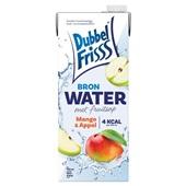 DubbelFrisss bronwater met fruitsap mango appel voorkant