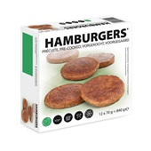 Hamburger voorkant