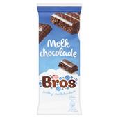 Bros Chocolade Melk Tablet voorkant
