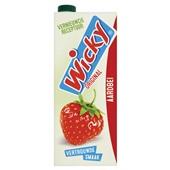 Wicky 1 Vruchtensap Aardbei voorkant