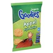 Organix Goodies appel rijstwafeltjes achterkant