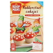 Koopmans Bakmix Paddenstoel Cakes voorkant