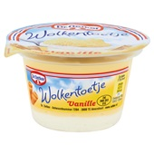 Dr. Oetker wolkentoetje vanille voorkant