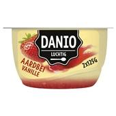 Danio Luchtige Kwark Vanille Aardbei voorkant