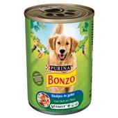 Bonzo Hondenvoer Met Hart En Pens In Gelei voorkant