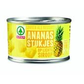 Spar Ananasstukjes in siroop voorkant