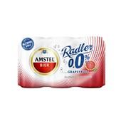 Amstel Radler Grapfruit  0.0% 6X33CL voorkant