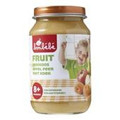 Bonbébé Baby/Peuter Fruithapje Abrikoos, Appel, Peer Met Koek voorkant