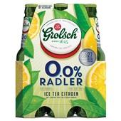 Grolsch Radler Ice Tea  0.0% 6X30CL voorkant