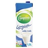 Campina Lang Lekker Volle Melk voorkant