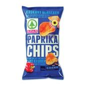 Spar Chips Paprika voorkant