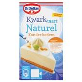 Dr. Oetker Bakmix Kwarktaart Naturel Zonder Bodem voorkant