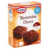 Dr. Oetker Bakmix Brownies achterkant