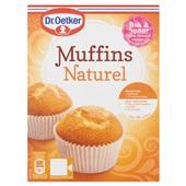 Dr. Oetker Muffinmix Naturel voorkant