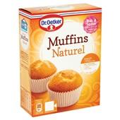 Dr. Oetker Muffinmix Naturel achterkant