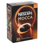 Nescafé Oploskoffie Café Mocca achterkant