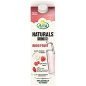 Arla Naturals drinkyoghurt rood fruit voorkant
