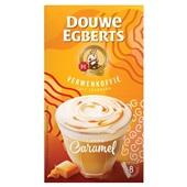 Douwe Egberts oploskoffie Latte caramal voorkant