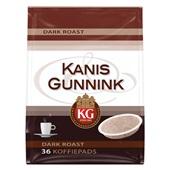 Kanis - Gunnink Koffie Pads Dark Roast voorkant