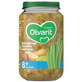 Olvarit Baby/Peuter Maaltijd Sperziebonen, Aardappelen En Rundvlees voorkant