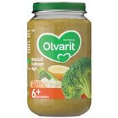 Olvarit baby/peuter maaltijd broccoli, kalkoen en rijst voorkant