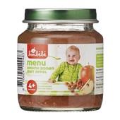 Bonbébé Baby/Peuter Maaltijd Menu Bruine Bonen En Appel voorkant