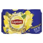 Lipton Ice Tea Ijsthee Sparkling 6x33CL voorkant