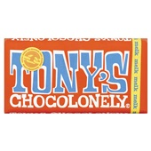 Tony's chocolonely chocolade melk voorkant