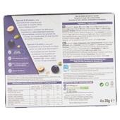 Kellogg's protein bar zwarte best, pompoenpit, cashew achterkant