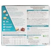 Kellogg's protein bar kokos, cacao, cashew achterkant