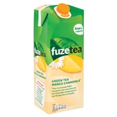 Fuze Tea mango chamonille achterkant