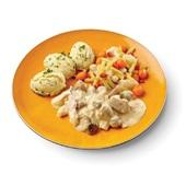 Culivers (1) vol au vent met zomerse groentjes en aardappelpuree met bieslook voorkant