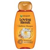 Garnier loving shampoo argan kamille voorkant