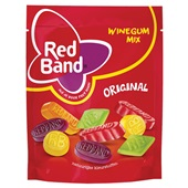 Red Band winegums  30% minder suker voorkant