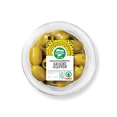 Spar groene olijven voorkant