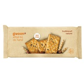 Gwoon fruitbiscuit naturel voorkant
