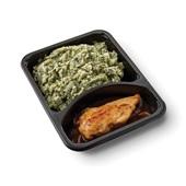 Culivers (101) kipfilet in uienjus met andijviestamppot zoutarm achterkant