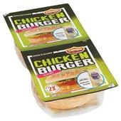 Flemmings Flemmings chickenburger heinz 2 stuks achterkant