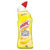 Harpic toiletreiniger active fresh citroen achterkant
