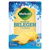 Melkan plakken kaas belegen voorkant