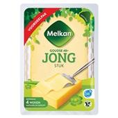 Melkan stuk kaas jong 48+ voorkant