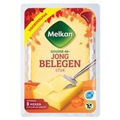 Melkan stuk kaas jong belegen 48+ voorkant
